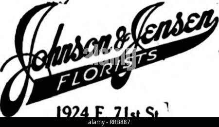 . Florists' review [microform]. Floriculture. WB/STS S.E.G>r.47th St. and Lake Park Ave. THE UNEXCELLED FACILITIES OF THE E.WIENHOEBER CO. 22 E. ELM ST.. CHICAGO Are available to the trade In flllingr all orders. MEMBER F. T. D.. 1924 E. 71 St Si Chicago Ddinrio made to an; part oi the dt; aad tulxubs. Scf- <ric« is our aolto. CHICAGO O'LEARY—Florist 369 East 47th Street Member F. T. D. Send Your CHICAGO Orders to H. N. BRUNS Best Eauipped Retail Store on the West Side 3040 W. Madison St.. CHICAGO. ILL. GEORGE FISHER & BRO. 183 N. WABASH AVE. CHICAGO Highland Park, 111. _, ^ HIGHLAND - Stock Photo