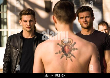 OVERDRIVE, FREDDIE THORP , SCOTT EASTWOOD, 2017 - Stock Photo