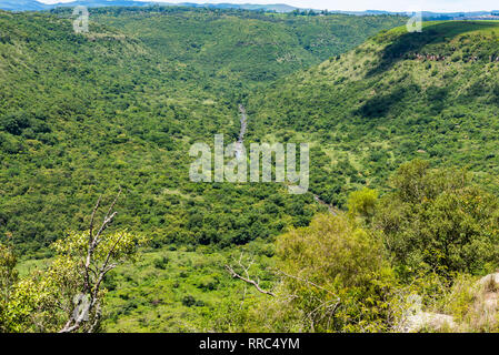 The Umgeni River Valley, Kwazulu Natal, South Africa. - Stock Photo