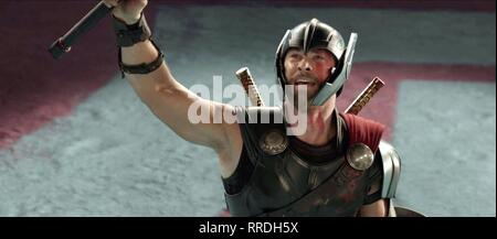 THOR: RAGNAROK, CHRIS HEMSWORTH, 2017 - Stock Photo