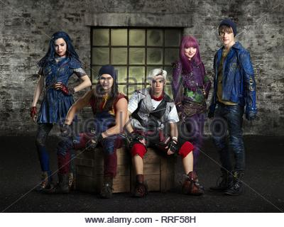 DESCENDANTS 2, SOFIA CARSON, BOOBOO STEWART, CAMERON BOYCE, DOVE CAMERON , MITCHELL HOPE, 2017 - Stock Photo