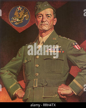 Lieutenant General Claire Lee Chennault. - Stock Photo