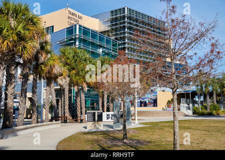 Tampa Bay History Museum, Tampa, Florida - Stock Photo