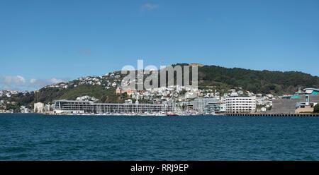 Wellington, North Island, New Zealand. - Stock Photo