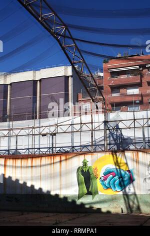 El modelo prison, Barcelona, Spain. - Stock Photo
