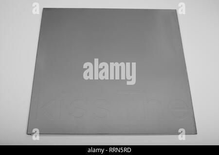 New Order The Kiss 12 inch vinyl single - Stock Photo