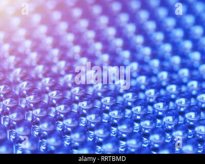 Close up on a grid of an LED array - Stock Photo