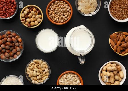 Plant milk concept - Stock Photo