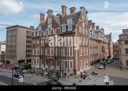 The Grand luxury hotel in the City of York, UK. - Stock Photo