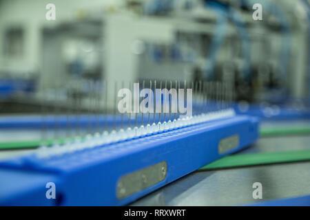 Medical equipment - mass produce - needles - Stock Photo