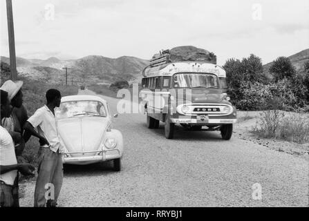 VW Beetle - VW Käfer auf Haiti unterwegs  -  XVII - Stock Photo