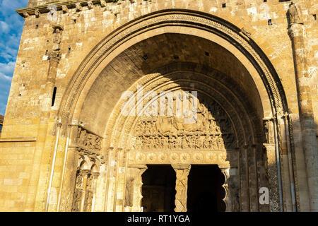 Abbaye saint pierre, Moissac Tarn et Garonne Occitanie France 82 - Stock Photo