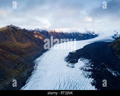 Iceland, Vatnajoekull National Park, Jokulsarlon - Stock Photo