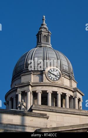 Nottingham Council House Building ,City Hall, Nottingham City Centre, England, UK