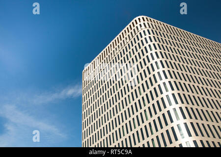 Germany, Munich, facade of Bavaria Towers - Stock Photo