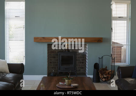 Interior of living room at home - Stock Photo