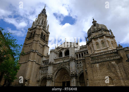 catedral Primada, Toledo, Castilla la Mancha, Spain - Stock Photo