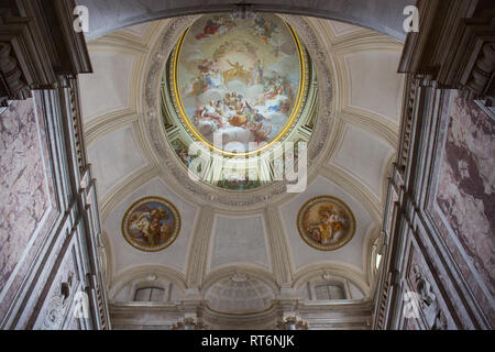 Royal Palace of Caserta, the largest Royal Palace in the world - Stock Photo
