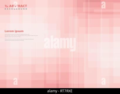 Abstract gradient pink square pattern background. You can use for paper design, ad, poster, print, cover. vector eps10 - Stock Photo
