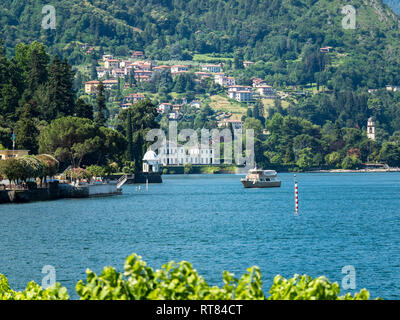 Italy, Lombardy, Bellagio, Lake Como - Stock Photo
