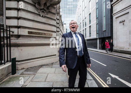 Eldar Sætre. President and Chief Executive Officer (CEO) of Equinor at the Capital markets Day in London, England, UK - Stock Photo