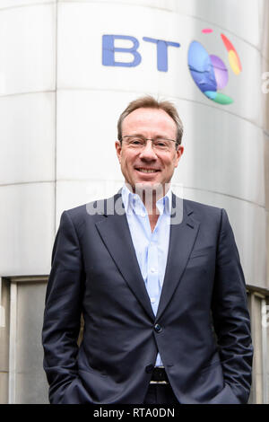 Philip Jansen, Chief Executive Officer of BT since 1st February 2019. - Stock Photo