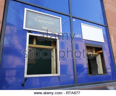 Former Bank of Scotland Nethergate Dundee Scotland  26th February 2019 - Stock Photo