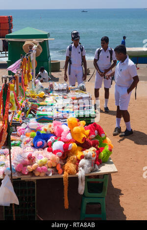 Kites and toys for sale at Galle Face Green, Colombo, Sri Lanka - Stock Photo