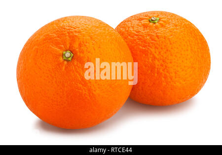 tangerine path isolated - Stock Photo
