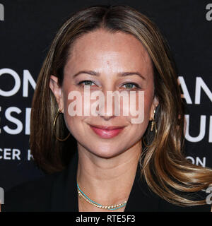 Beverly Hills, United States. 28th Feb, 2019. BEVERLY HILLS, LOS ANGELES, CA, USA - FEBRUARY 28: Jennifer Meyer arrives at The Women's Cancer Research Fund's An Unforgettable Evening Benefit Gala 2019 held at the Beverly Wilshire Four Seasons Hotel on February 28, 2019 in Beverly Hills, Los Angeles, California, United States. (Photo by Xavier Collin/Image Press Agency) Credit: Image Press Agency/Alamy Live News - Stock Photo