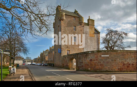DORNOCH SUTHERLAND SCOTLAND THE  DORNOCH CASTLE HOTEL IN CASTLE CLOSE - Stock Photo