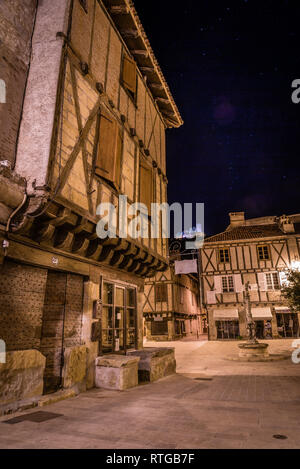 Saint Cere in Dordogne valley area in Lot, Occitanie, France - Stock Photo