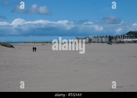 Barmouth in Wales. - Stock Photo
