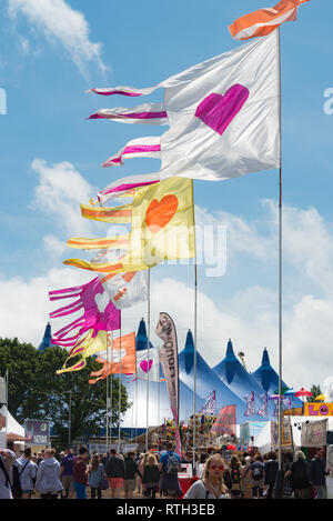 The Isle of Wight Festival, 2015 - Stock Photo