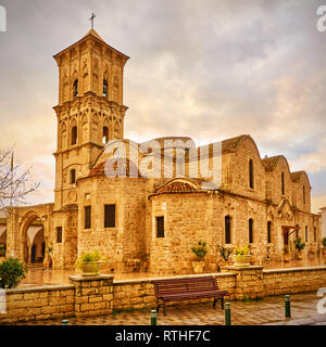 Church of St. Lazarus in Larnaca, Cyprus - Stock Photo