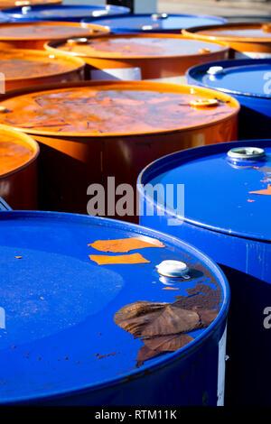 55 Gallon Steel Barrel tank for Industrial Liquid Chemical