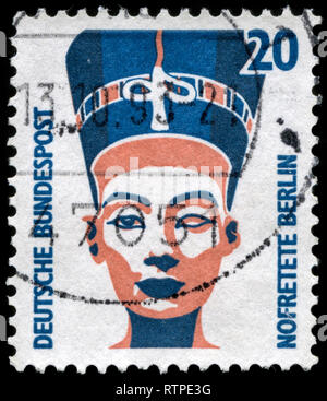 Postage stamp from the Federal Republic of Germany in the Sights series issued in 1989