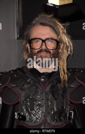 Los Angeles, CA, USA. 9th Feb, 2019. LOS ANGELES - FEB 10: Shawn Everett at the 61st Grammy Awards at the Staples Center on February 10, 2019 in Los Angeles, CA Credit: Kay Blake/ZUMA Wire/Alamy Live News - Stock Photo