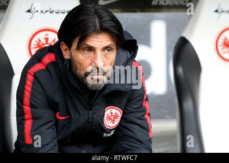Frankfurt, Deutschland. 02nd Mar, 2019. firo: 02.03.2019, football, 1.Bundesliga, season 2018/2019, Eintracht Frankfurt - TSG 1899 Hoffenheim, portrait, facial expressions, half figure, | usage worldwide Credit: dpa/Alamy Live News - Stock Photo
