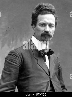 Cesare Battisti (4 February 1875 – 12 July 1916) was an Italian patriot, geographer, socialist politician and journalist of Austrian citizenship, who became a prominent Irredentist at the start of World War I. - Stock Photo