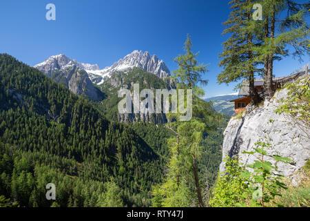 Lienzer Dolomiten. Lienz Dolomites. Austria. - Stock Photo