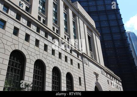 Pittsburgh, Pennsylvania - city in the United States. Post Office building. - Stock Photo
