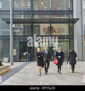 financial conduct authority offices London - Stock Photo