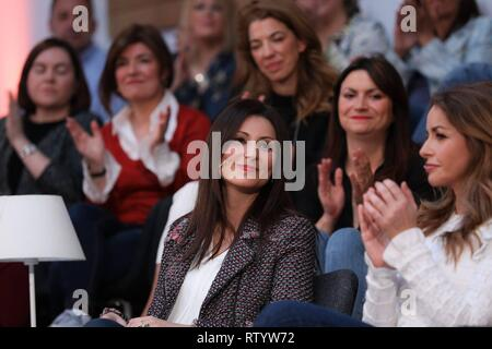 Madrid, Spain. 03rd Mar, 2019. Senator, Lorena Roldán seen attending the act.  Cordon Press Credit: CORDON PRESS/Alamy Live News - Stock Photo