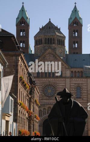 Dom zu Speyer, Rheinland-Pfalz, Deutschland, Germany, - Stock Photo