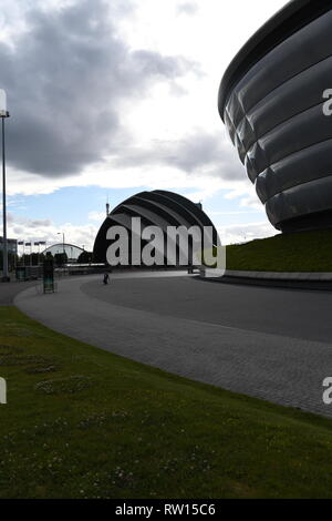 The SSE Hydro Arena, Glasgow, Scotland, UK - Stock Photo