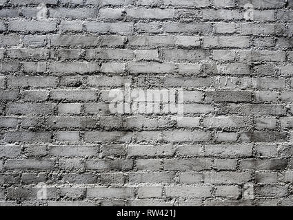 Texture of gray color brick wall - Stock Photo