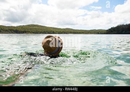 Fraser Island, Queensland, Australia - Stock Photo