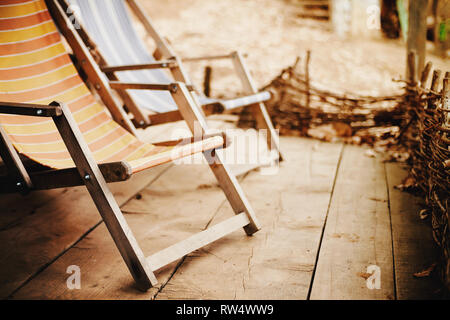 Terrific Resting Chairs On Wooden Balcony Outdoor Scene During Day Ibusinesslaw Wood Chair Design Ideas Ibusinesslaworg
