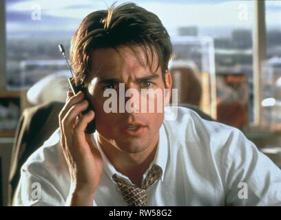 TOM CRUISE, JERRY MAGUIRE, 1996 - Stock Photo